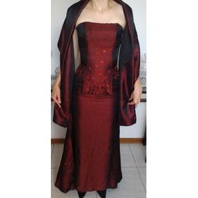 Vestido De Formatura De Alta Costura Luddy Ferrera Vermelho