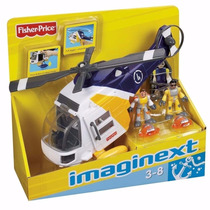 Imaginext - Brinquedo Helicóptero Aventura - Fisher Price