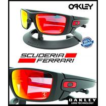 Oakley Ferrari Fuel Cell Matte Black - Ruby Iridium 9096 A8