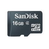 Memoria Micro Sdhc 16gb Sandisk Clase 4 + Adaptador Sd