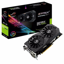 Placa De Video Asus Nvidia Geforce Gtx 1050ti 4gb Strix