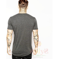 Remera Swag Justin Bieber Extendida Long Fit Curvada Remeron