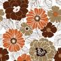 Papel De Parede Floral Lavável 3.00 A X 1.00 De L
