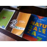 Lote 3 Libros Ciencias Naturales Estrada Santillana