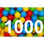 1000 Pelotas De Plastico Para Piscina 70mm 7cm