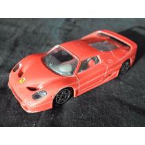 Ferrari F50 Burago Auto De Juguete 1/43 Italiana Buen Estado