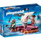 Playmobil Balsa Con Piratas 6682 Juego Giro Didáctico