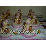 Souvenirs Nene/nena Porcelana Fria X 20 Unidades