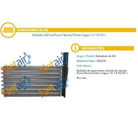 Radiador Ar Quente Ford Escort / Verona / Pointer / Logus