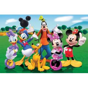 Painel Decorativo Festa Infantil Turma Do Mickey (mod3)