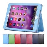 Capa Protetora Case Couro Sintético Apple Ipad Mini 1 2 3