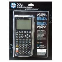 Calculadora Gráfica Hp 50g Original Lacrada + Capa Protetora