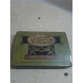Caja De Cigarrillos Abdulla Imperial Preference De Chapa