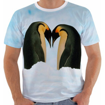 Camiseta Pinguim - Penguin - Animal - Animais