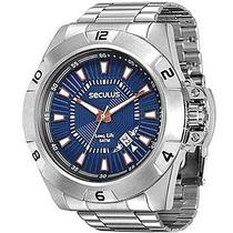 Relógio Seculus Masculino Long Life 28612g0svna1