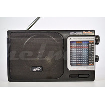 Radio Midi Japan Md-4500 Fm Tv Mw Sw 12bandas 110v Novo!