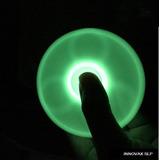 Fidget Spinner Brilla En La Oscuridad Fluorescente Glow Hand