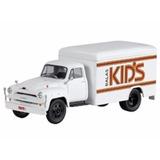 Miniatura De Caminhão Chevrolet C6500 Balas Kids 1:43 Ixo