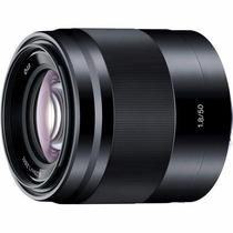 Lente Sony E 50mm F1.8 Sel50f18 Oss E-mount Objetiva Nex