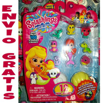 En Mano Splashlings Serie 1 Set 12pcs Sirenas Mar Shopkins
