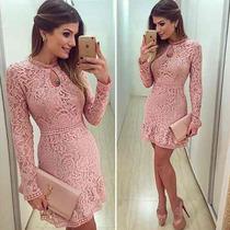 2016 Novo Chegada Vestido Vestidos Moda Vestido De Renda Sex