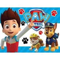 Kit Imprimible Paw Patrol Patrulla De Cachorros 2x1