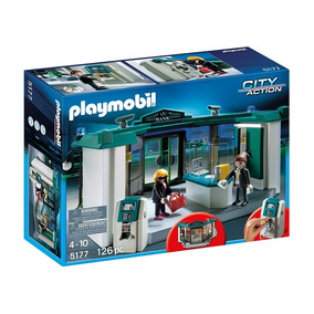 Playmobil 5177 Banco Con Caja Fuerte!!!!