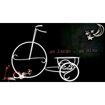 Centro De Mesa Triciclo En Hierro 40 Cm X 30 Cm