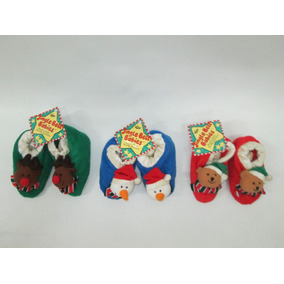 Babuchas Pantuflas Navideñas Bebes Jingle Bell