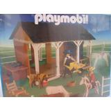 Playmobil Granja Con Animales + 2 Figuras Art. 1-3963