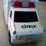 Hot Wheels Autito Ambulancia Citrix Wellys Colección Rfan