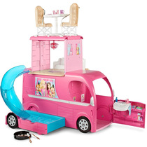 Barbie Camper Vehiculo Pop-up Camper Vehicle