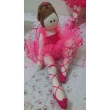 Boneca Bailarina De Pano Decoração Festas E Quartos De Bebe