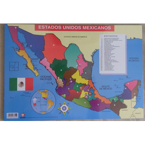 Rompecabezas Republica Mexicana Educatodo
