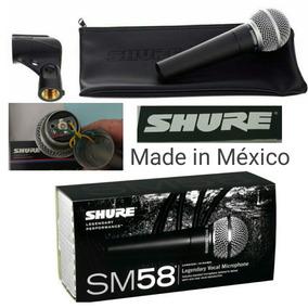 Microfone Shure Sm58 Lc Made In Mexico Original