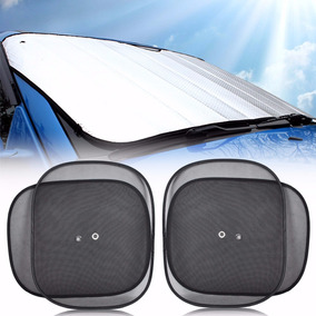 Protetor De Sol Parabrisa+ Bloqueador De Sol Lateral Carro