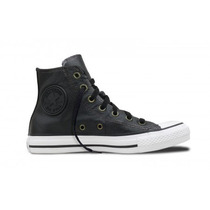 Zapatillas Converse Bota All Star Hi Black Cuero
