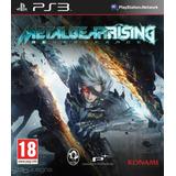 Metal Gear Rising Revengeance Español - Mza Games Ps3