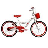 Bicicleta Lahsen Minnie Aro 20 Blanca