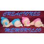 Souvenirs Porcelana Fria Bebes - Nacimiento - Bautismo