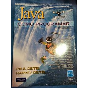 Java Como Programar (8ª Edição) - Deitel - Novo