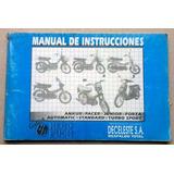 Manual De Instrucciones De Motos De Deceleste, Ankur, Junior