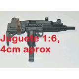 Juguete: Arma Tipo Automatica Terminator Hot Toys Uzi Gdbx77