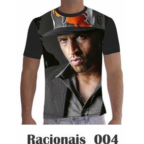 Camisa Camiseta Musica Racionais Mcs Rap Hip Hop 004