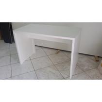 Mesa Para Escritório Em Mdf 15 Mm Branco