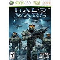 Xbox 360 - Halo Wars (acepto Mercado Pago, Oxxo)