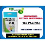 Cartucho Tinta Nuevo Compatible Canon Pg-30 Negro