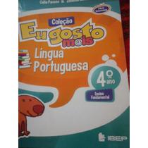 Eu Gosto Mais Língua Portuguesa 4 Livro Do Prof