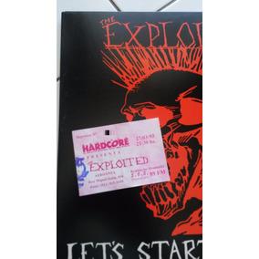 Exploited Lets Start A War Lp Vinil (( Novo ))