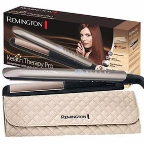 Plancha Para Cabello Remington Terapia Queratina S8590